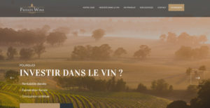 Page d'accueil Private Wine
