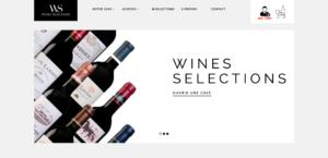 Site Interet de vente de vins