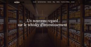 Site Internet de BLM Whisky escroquerie