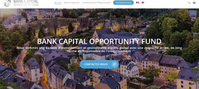 Alerte plateforme | Bank Capital Opportunity Fund