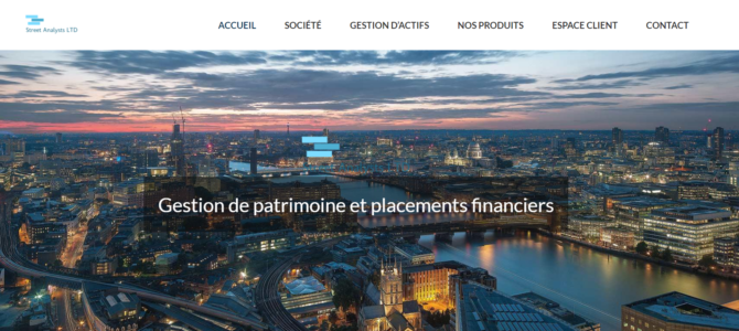 Alerte plateforme | Street Analysts Ltd