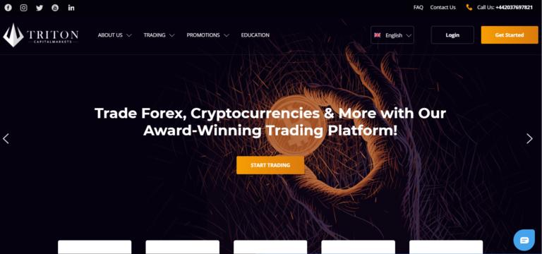 escroquerie Triton Capital Market