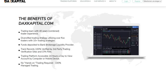 Alerte plateforme   Daxkapital.com